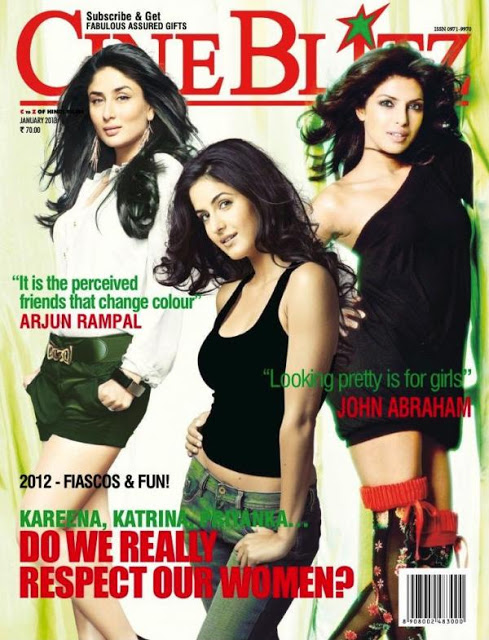 Kareena Katrina Priyanka Cineblitz 2013