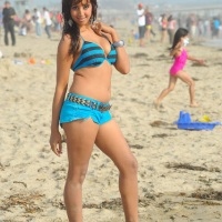 Hot Sanjana at the Beach - Yamaho Yama Movie Latest Stills